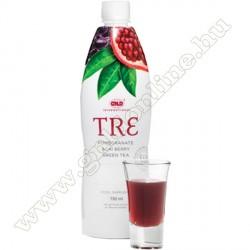 Tre: gránátalmát, acai bogyót és zöld teát tartalmazó ital